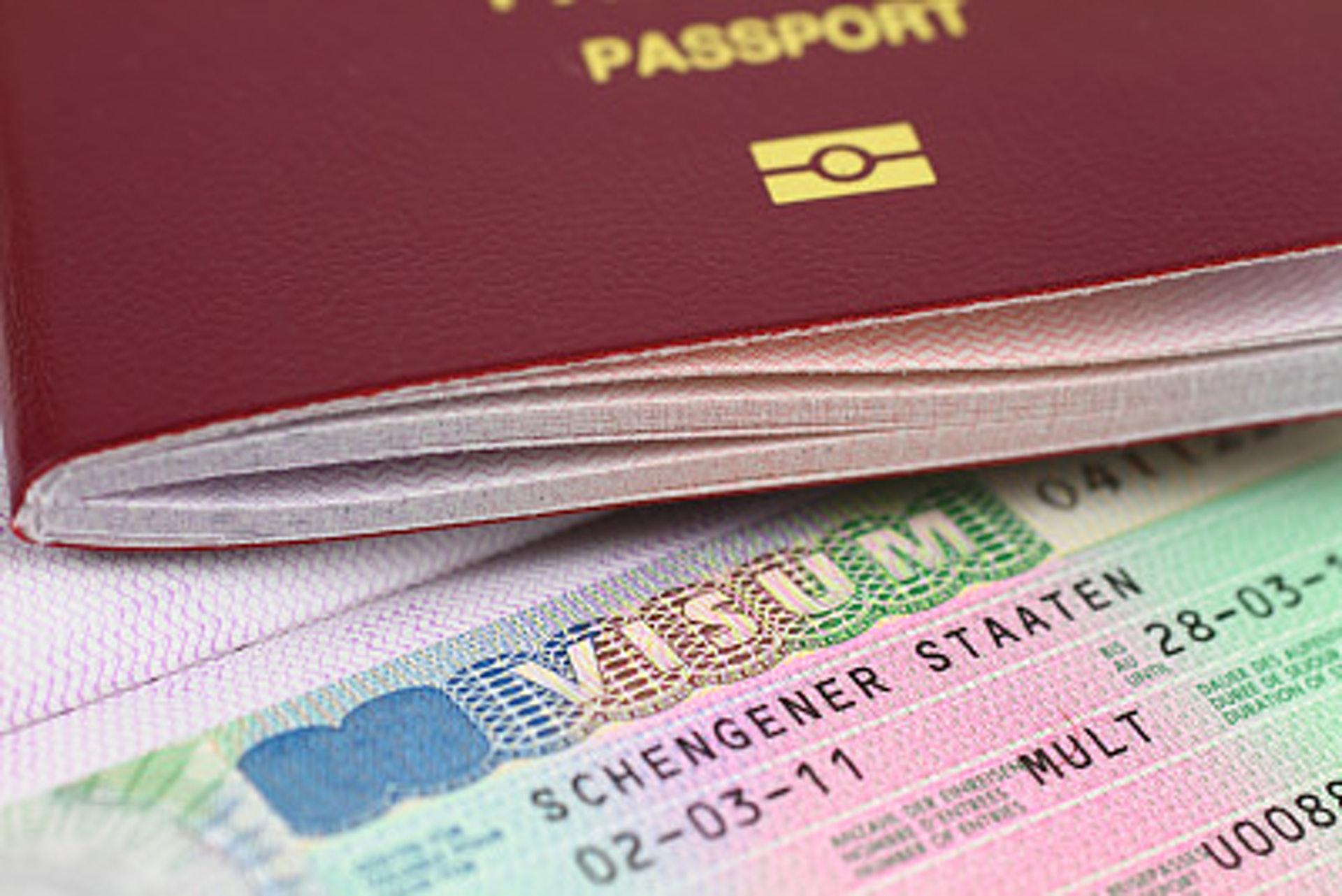 Шенгенские визы картинка